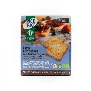 Fette Biscottate Integrali Senza Glutine Probios 300 G
