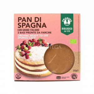 Pan di Spagna Probios 3 basi 350G