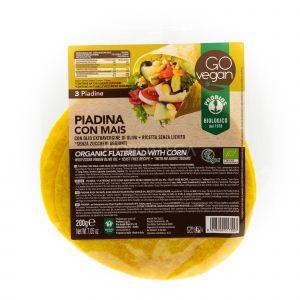 Piadina Vegan con Farina di Mais Probios 200 G