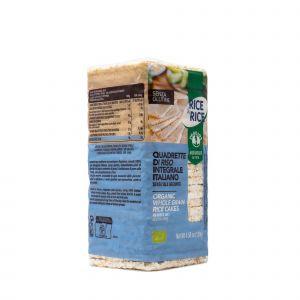 Quadrette di Riso Senza Sale Probios 130 G