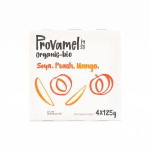 Yofu di Soia con Pesca e Mango Provamel 4x125G