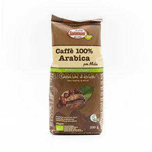 Caffè 100% Arabica per Moka Salomoni 250 G