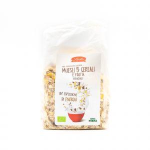 Muesli 5 Cereali e Frutta Stella 350G