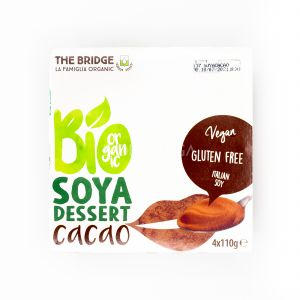 Dessert di Soia al Cacao The Bridge 4x110G