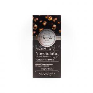 Cioccolato Nocciolato Fondente Chocolight Venchi 100 G