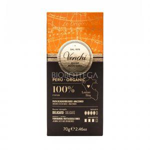 Tavoletta 100% Cacao Perù Venchi 70G