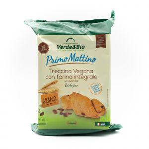 Treccina Vegana Integrale Con Uvetta Verde&Bio 240 G