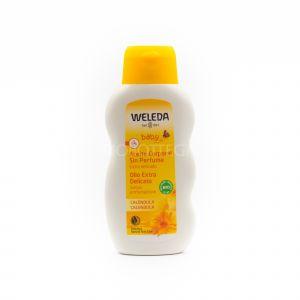 Olio Extra Delicato alla Calendula Senza Profumazione Weleda 200 ML