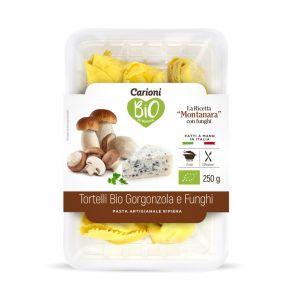 Tortelli Gorgonzola e Funghi Carioni 250 G
