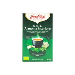 Tè Verde Armonia Interiore YogiTea 30.6G